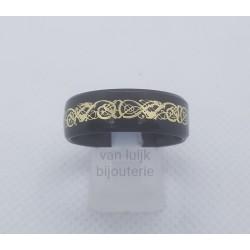 rvs heren ring vintage